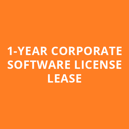 1-YEAR CORPORATE SOFTWARE LICENSE LEASE
